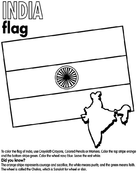 coloring pages for india india coloring page crayola com