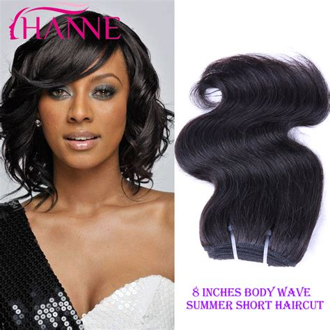 hairstyles with one piece extensions short body wave weave hairstyles hair