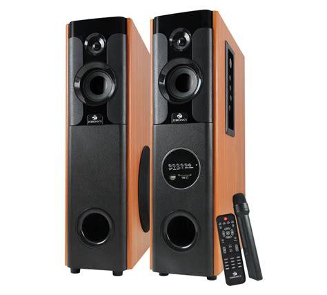 Speaker Tower zeb btm7450rucf speakers tower speakers zebronics always ahead