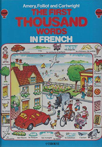 libro first thousand words in the usborne first thousand words in french with easy pronunciation guide letteratura e