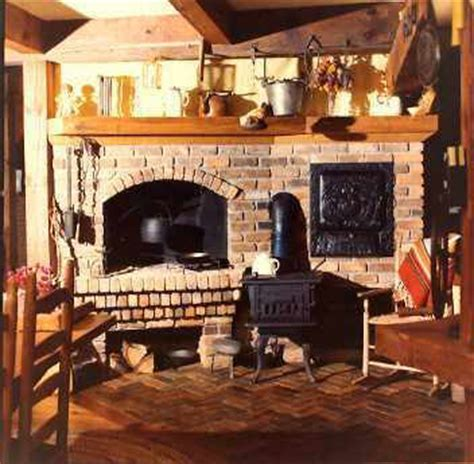country home plans by natalie kitchen fireplace