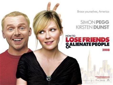 simon pegg kirsten dunst movie how to lose friends alienate people movie review simon