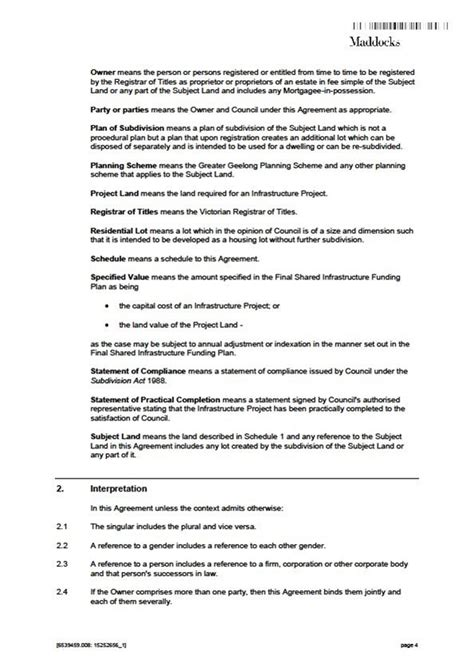 section 20 agreement council minutes section b reports 8 december 2016