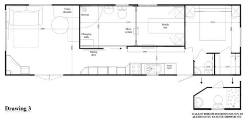 static caravan floor plan assist arch leisure disabled static caravans disabled
