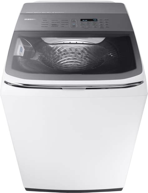 Samsung Washer Samsung Wa54m8750aw 27 Inch Top Load Washer With Activewash Sink Steam Speed Wi Fi