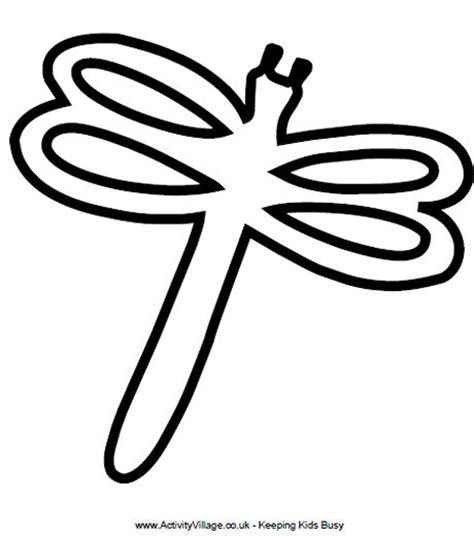 dragonfly template dragonfly template to print