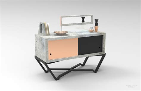 design lab furniture buffet beton jimmy delatour design lab fubiz media