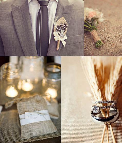 burlap wedding decor ideas burlap inspired country weddin rustic chic wedding decor burlap reception details