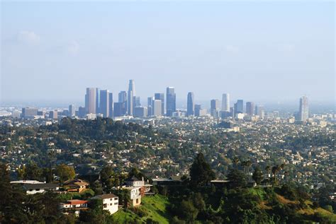 los angeles los angeles from the helipad travel wallpaper and stock