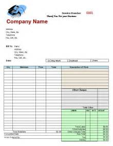 mechanic invoice template word mechanic shop invoices search m a r s
