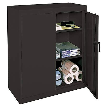 office depot storage cabinet realspace 42 steel storage cabinet with 2 adjustable