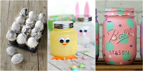 easy easter decorations to make at home 45 easy easter crafts ideas for easter diy decorations