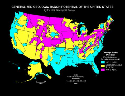 united states radon map michigan radon maps acquired by protech environmental
