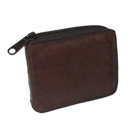 leather zip wallet mens leather zip around wallet by ctm 174 zip around wallets wallets small accessories at