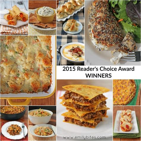 best recipes best recipes of 2015 reader s choice award winners