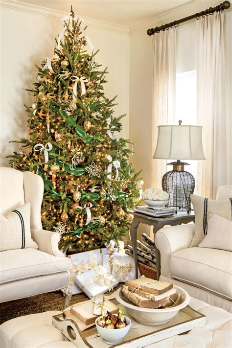 easy ways to decorate a 4 ft tree 10 ways to decorate with magnolia this southern living