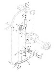 ez go parts diagram ezgo rear axle diagram