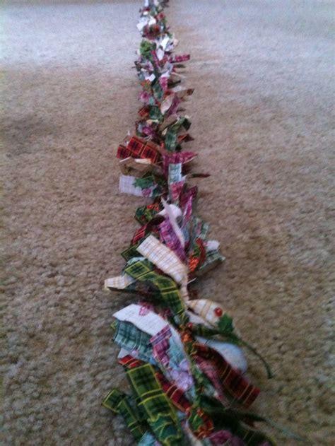 homemade christmas garland christmas pinterest