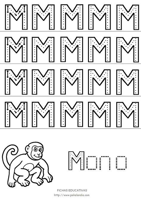 imagenes educativas letra m letra m mayuscula para imprimir imagui