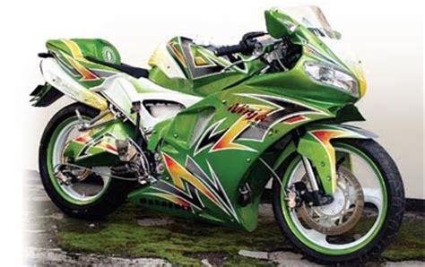 r supplement malang motorcycle s style 2010 modifikasi kawasaki hijau