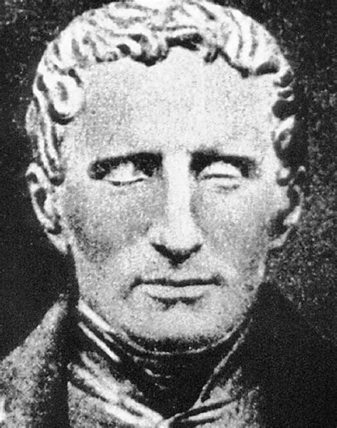 Blind Brail Louis Braille The Spectator And The Blind Man