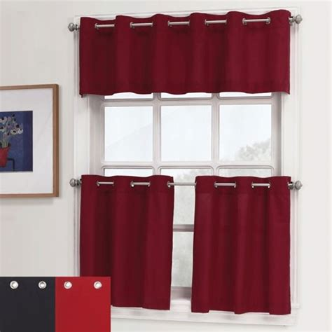 Essence Grommet Kitchen Curtains 0 00 For The Kitchen Grommet Kitchen Curtains