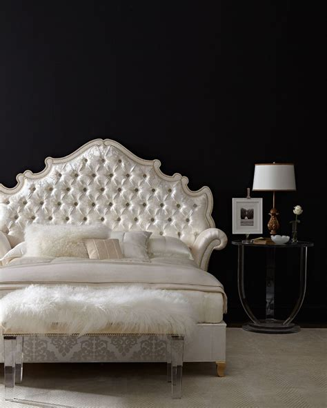 king tufted bed high end beds for a long winter s nap