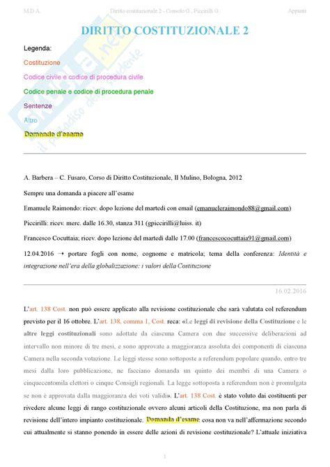 dispensa diritto costituzionale parte 1 appunti di diritto costituzionale 2