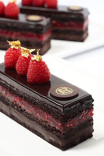9 Ingredients And Directions Of Tiny Chocolate Cakes And Fruit Kabobs Receipt by Best 20 Opera Cake Ideas On