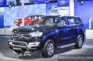 Ford Expo New Ford Endeavour Auto Expo 2016