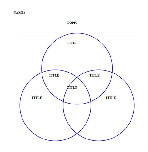 three ring venn diagram 20 editable venn diagram templates free word pdf doc