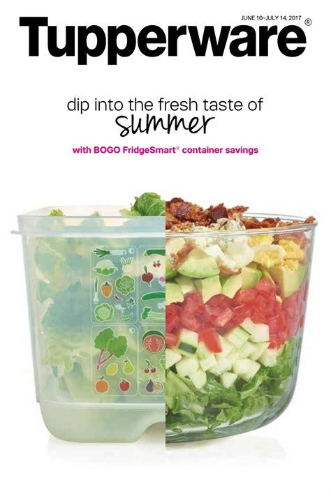 Tupperware Large Summer Fresh Kotak tupperware mid june 2017 brochure by diane b issuu