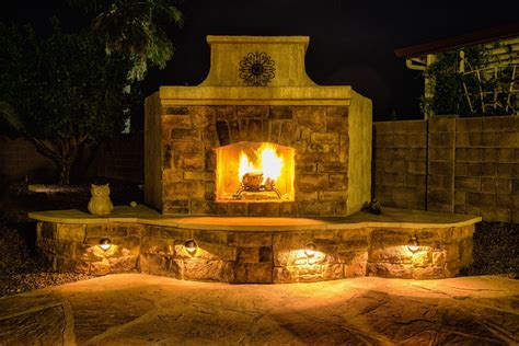 backyard fireplace plans your outdoor fireplace headquarters diy fireplace plans