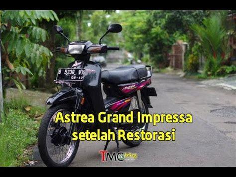 Suku Cadang Honda Grand Impressa vlog honda astrea grand impressa 97 setelah restorasi