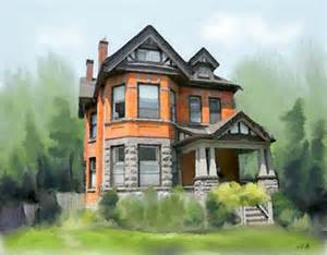 custom house portrait paintings of your home hamilton ontario