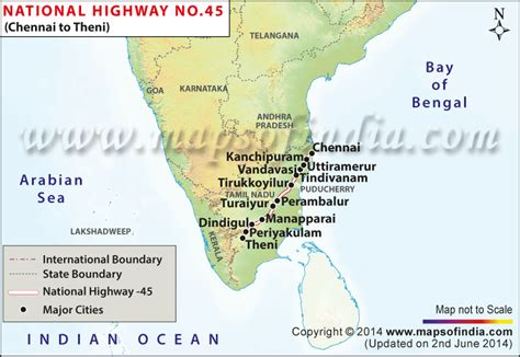 8 Ways To Land A New by Nh 45 Map Chennai To Theni