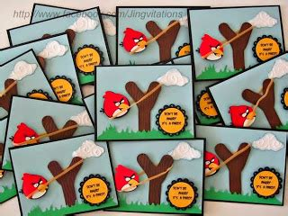 Goodie Bag Resleting Banner Hello 12 jingvitations angry birds invitations banner goody bags favor cake top