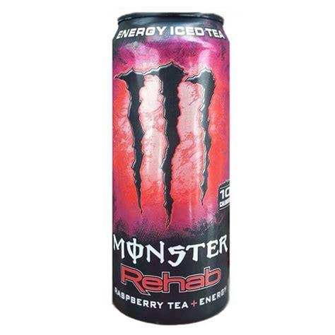 t 24 energy drink rehab raspberry tea energy drink 15 5 oz cans