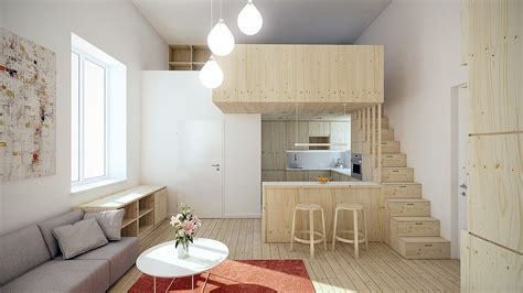 Designing For Super Small Spaces 5 Micro Apartments Small Apartment Design