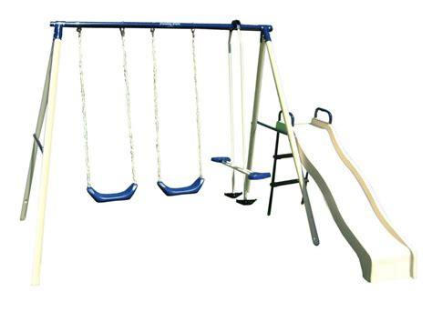flexible flyer swing n glide iii swing set with plays 9 of the best swing sets for active outdoor and backyard fun
