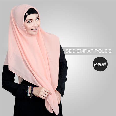 Jilbab Segiempat jilbab segiempat polos alya by naja jual dan