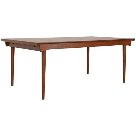 Solid Teak Dining Table Finn Juhl Solid Teak Dining Table Quot Fd 540 Quot By And Daverkosen For Sale At 1stdibs