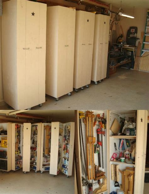Diy Garage Storage Cabinets Plans by Diy Rolling Cabinets For Tool Storage 49 Brilliant