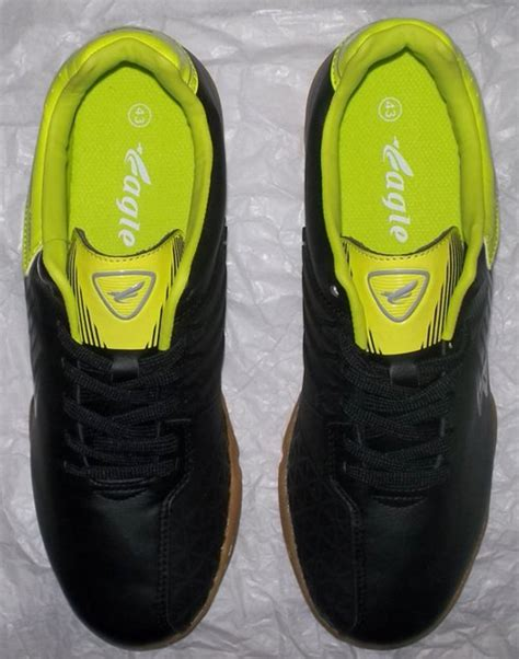 Sepatu Bola Evopawer Stabilo toko jual sepatu futsal original murah unik hitam hijau