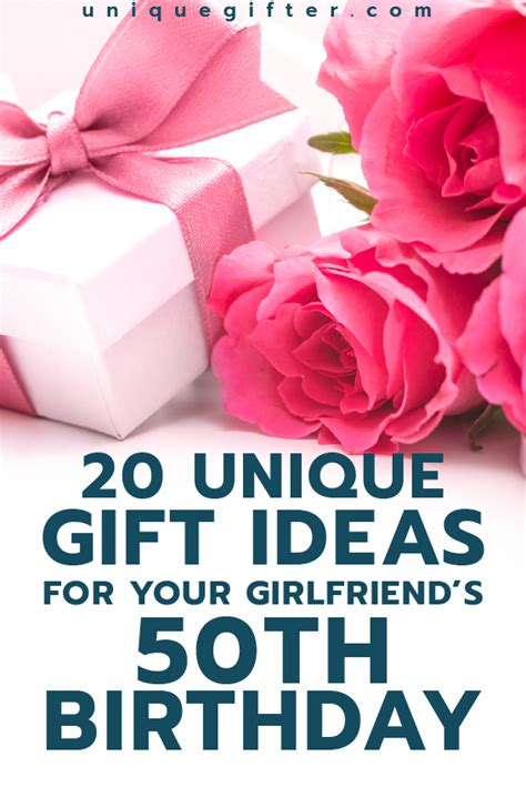gifts for your wife gift ideas for your girlfriend s 50th birthday things