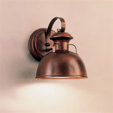 Glass Wall Sconce Interior Lighting 11 Quot W X 11 Quot H Mini Barnlight Wall Sconce Traditional