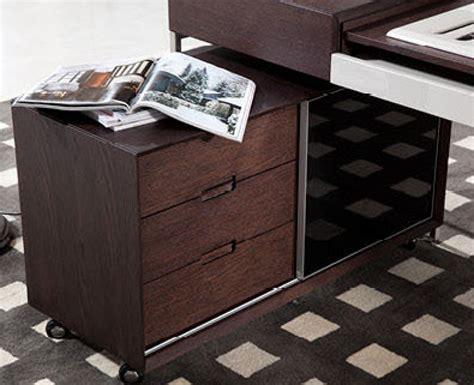 modern l shaped desk with side cabinet detroit michigan