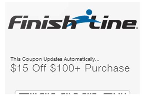 in store printable coupons for finish line shoes