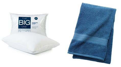 Kohls Pillows by Bath Towels And Pillows From Kohl S For Just 2 54 Dwym