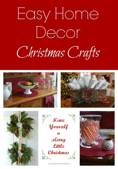 easy home decor crafts easy home decor christmas crafts exquisitely unremarkable